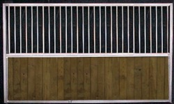 12 ft horse stall back or side wall