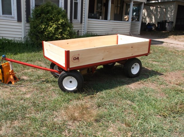 rebuild model 7300 1-ton wagon